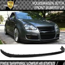 05 10 volkswagen gti mk5 jetta front bumper lip unpainted pu