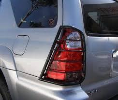 2003 toyota 4runner tail light tail light guards 7tu15a black toyota 4runner