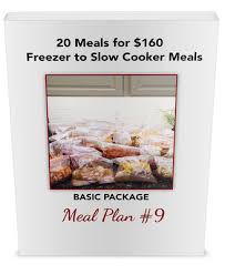 recipe lists for meal plans in u201c20 meals for 150 u201d series