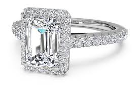 cut engagement ring emerald cut engagement rings ritani
