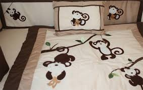 Boy Monkey Crib Bedding Baby Monkey Crib Bedding Home Inspirations Design Monkey