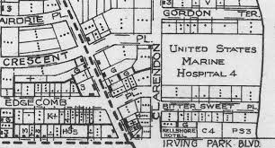 University Of Chicago Map by Lakeview Historical Chronicles Township Military Hospital