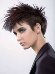 pictures of short black hairstyles punk