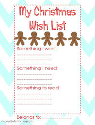 christmas wish list maker christmas list maker printable tomu co