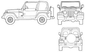 safari jeep front clipart jeep tj drawing clipartxtras