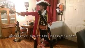 Captain Hook Halloween Costume Coolest Homemade Captain Hook Costumes