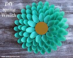 springtime wreaths springtime wreath diy spring spoon wreath anneopinion