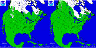 Usa Snow Map by Winter Forecast For 2016 2017