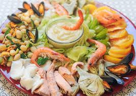 cuisine salade salade marine composée cuisine à l ouest