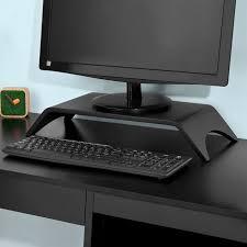 rehausseur de bureau sobuy frg98 sch support pour réhausseur moniteur écran pc tv lcd
