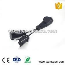 trailer adapter to convert an 13 pin euro socket on the vehicle to