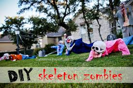 Zombie Decorations Diy Zombies Halloween Decor Yard Skeletons Easy And Inexpensive