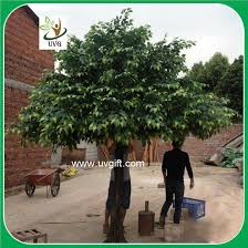 uvg gre045 ornamental green banyan tree artificial outdoor trees