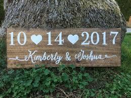 diy wedding signs best 25 wedding date sign ideas on diy wedding gifts
