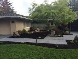 Modern Landscaping Ideas For Backyard by Mid Century Modern Backyard Ideas Lighting A Mid Century Modern