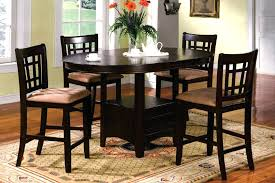 high end dining room tables counter high dining room sets round counter height dining table