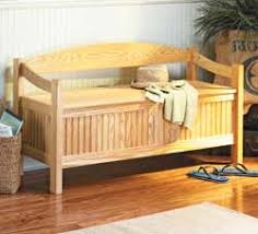 Wood Bench With Storage Plans by Wood Storage Bench Plans Free U2013 Easy Diy Idea Projects And