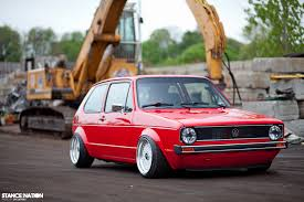 volkswagen hatch old slammed u0026 fitted vw golf mk1 euro stance car pinterest mk1