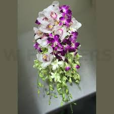 wedding flowers ottawa cascading orchid wedding bouquets cymbidium orchid bouquet w