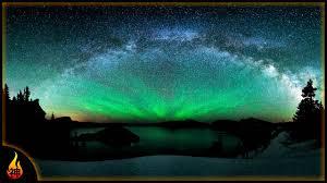 sleep under the northern lights 1 hour sleep music northern lights droning white noise music