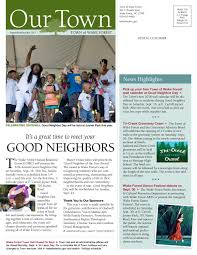 our town sept oct 2017 by town of wake forest issuu
