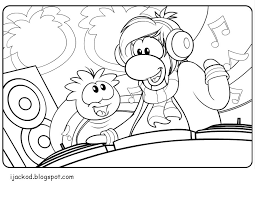 club penguin puffle coloring pages getcoloringpages
