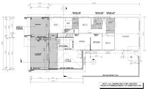 cowley residence site plan working drawings of residential kitchen