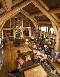 Rustic Home Interiors I U0027ve Always Loved The Idea Of A Log Cabin Home The One On This
