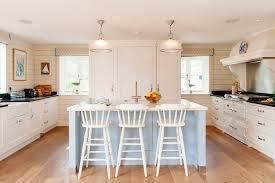Transitional Pendant Lighting Kitchen - coastal kitchen kitchen beach style with pendant lights marble