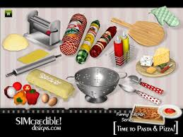 cuisine sims 3 simcredible s kitchen series to pasta and pizza