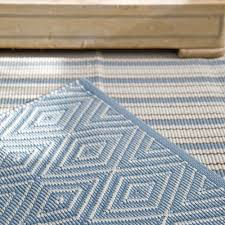 Indoor Outdoor Rug Dash And Albert Diamond Slate Light Blue Indoor Outdoor Rug Ships Free