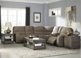 couch taupe 3 piece sectional living room set in taupe