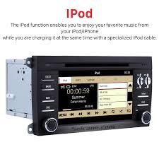 car dvd player for porsche cayenne with gps radio tv bluetooth
