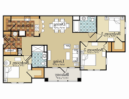 3 bedroom 2 bathroom 3 bed 2 bath house plans awesome 4 bed 3 1 2 bath floor plans for