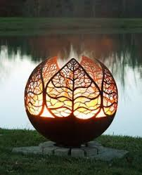 Custom Fire Pit by Up North Fire Pit Sphere Dyo Design Your Own Custom Firepit