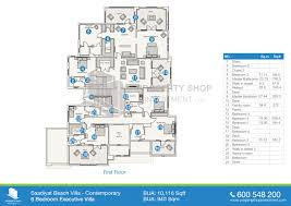 villas floor plans lusion