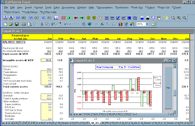 12 Month Profit And Loss Projection Excel Template Screen Business Plan Software Template Financial