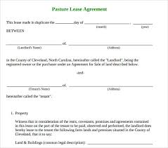sample basic lease agreement 9 documents in pdfproperty lease