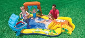 best inflatable water slides reviews pools and tubs