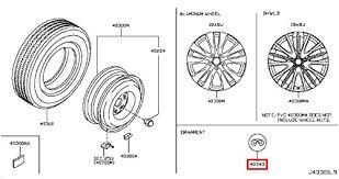 infiniti genuine road wheel tire disc wheel ornament
