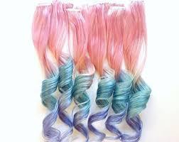 pink hair extensions pink hair extensions etsy