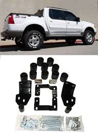 lifted 2013 ford explorer pa 2001 2005 ford explorer sport trac 3 lift kit 70023