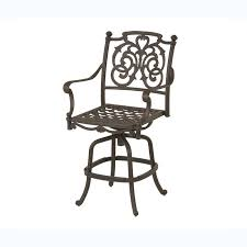 Patio Furniture Dallas Tx Hanamint St Augustine Swivel Bar Stool Outdoor Furniture