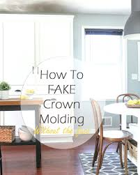 How To Install Crown Molding On Kitchen Cabinets How To Install Kitchen Cabinet Crown Molding Fair On Cabinets Renate