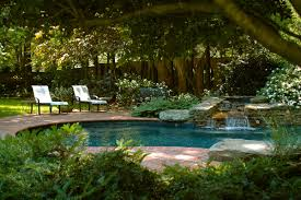 design garden modern backyard landscaping pool of house with
