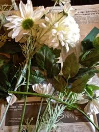 diy plaster of paris dipped flowers u2013 make