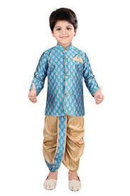 boys light blue tie needybee ethnic wear for baby boys light blue and golden sherwani