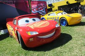 road to the races is bringing life size cars 3 characters to you