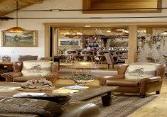 delightful western style living rooms mountain style formal living