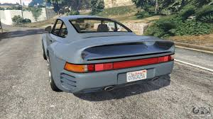 custom porsche 959 porsche 959 1986 for gta 5